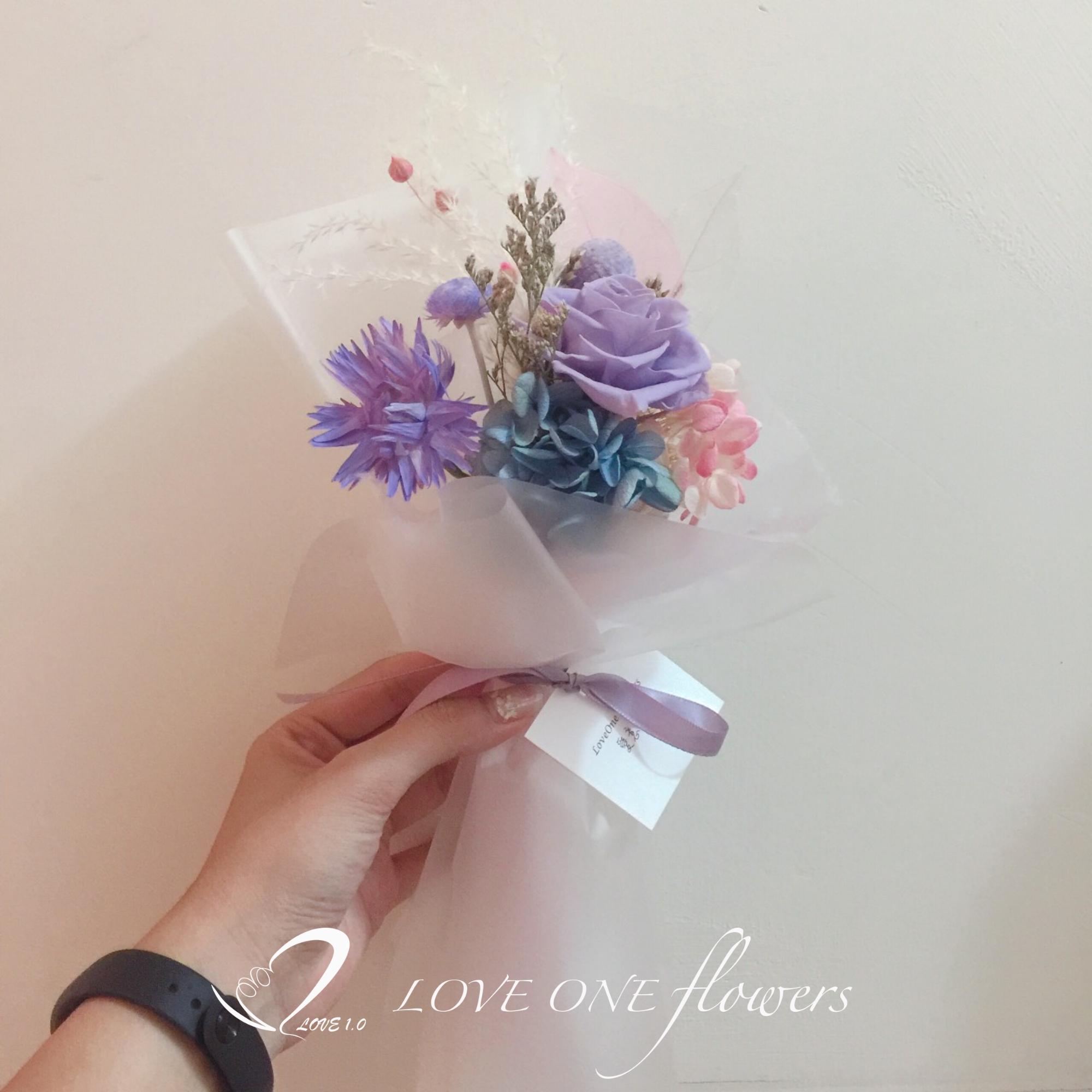 乾燥花伴娘禮推薦小花束1269 (6)