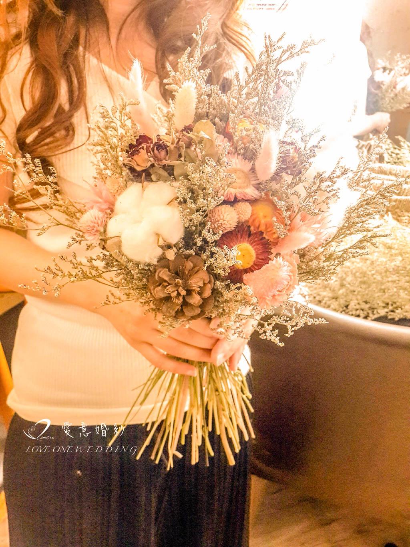 新娘捧花乾燥花378