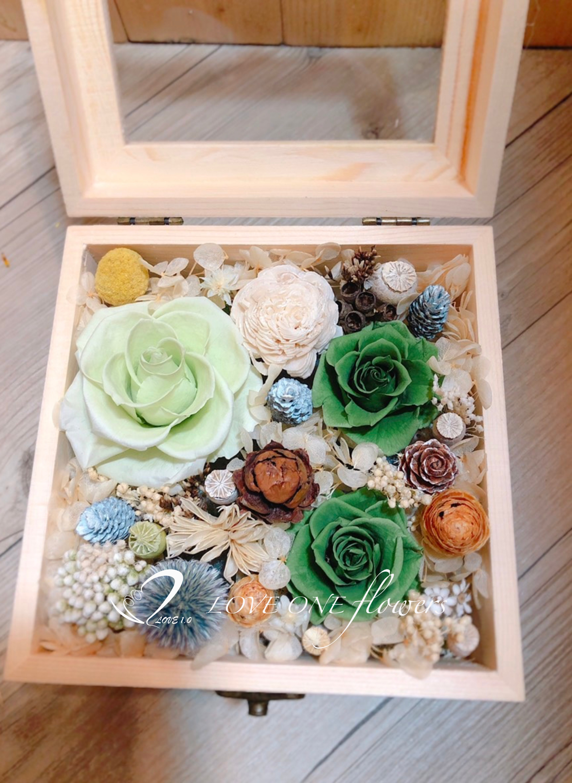 永生花木盒305