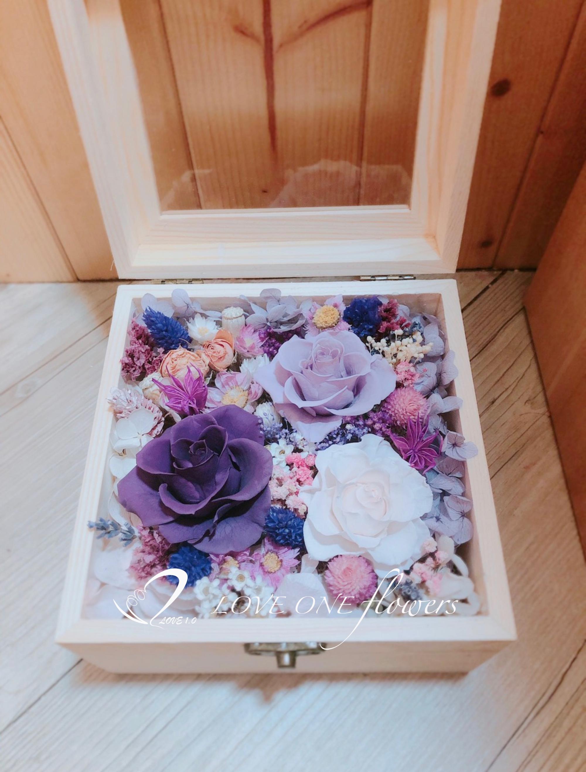 永生花木盒308