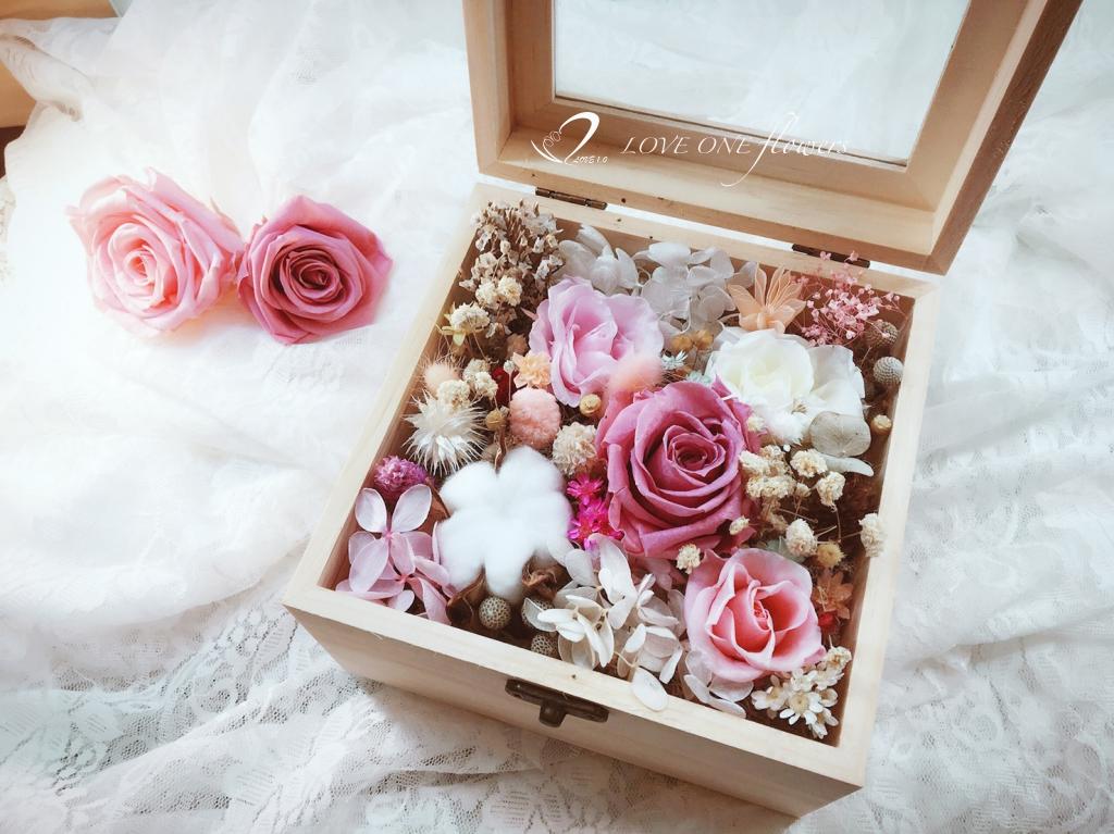 永生花木盒310