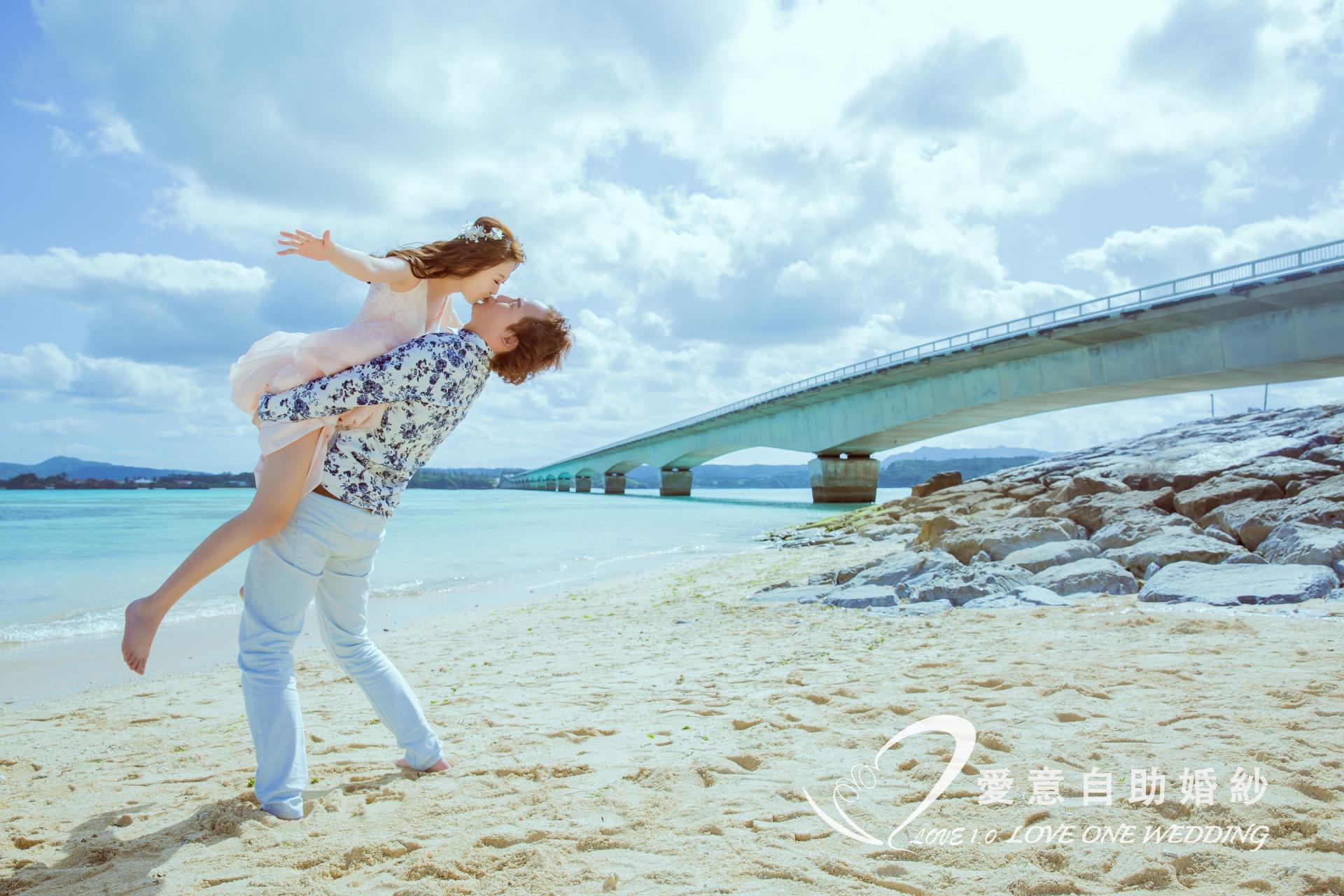 沖繩婚紗照愛意婚紗推薦1