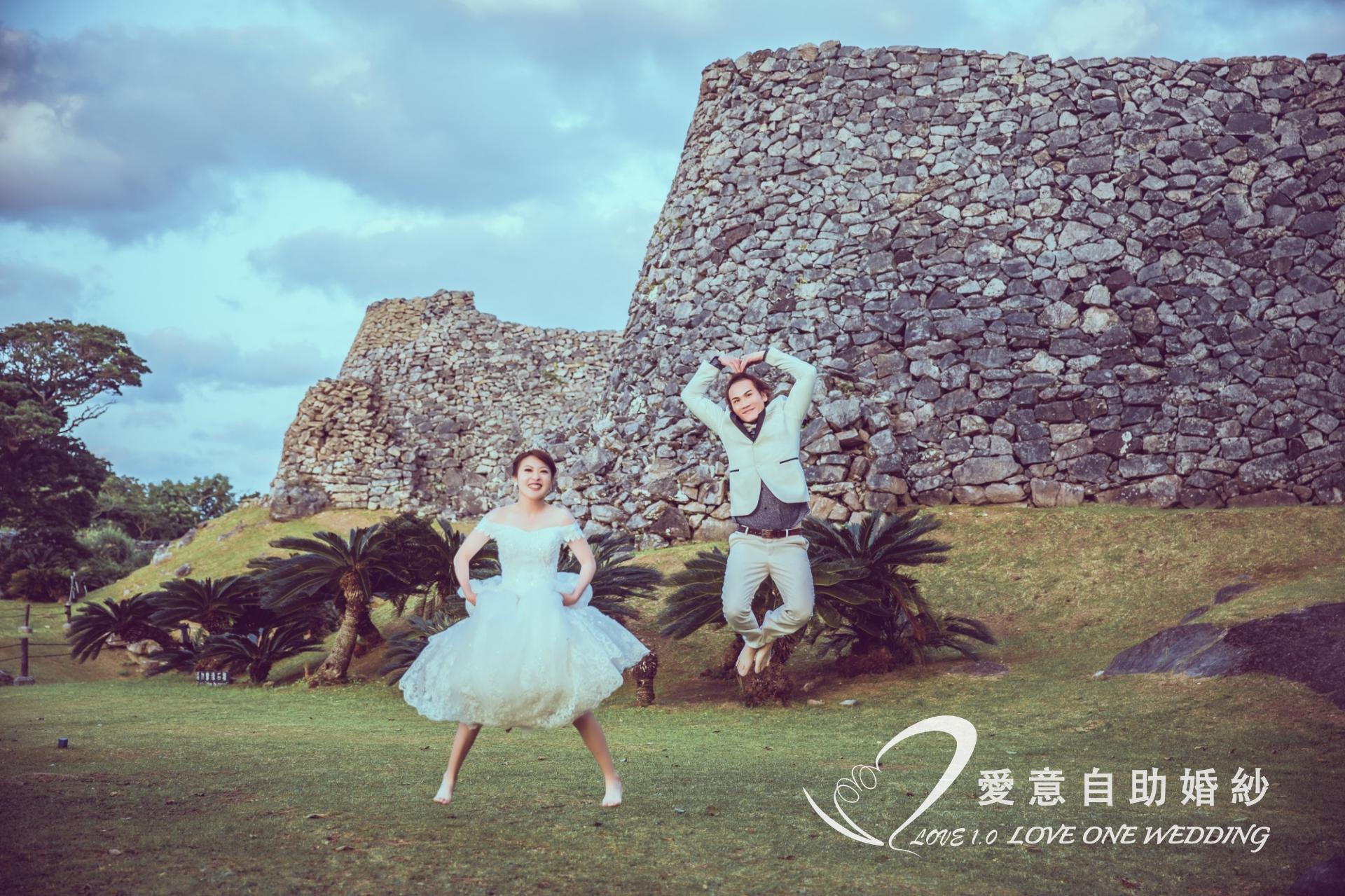 沖繩婚紗照愛意婚紗推薦2
