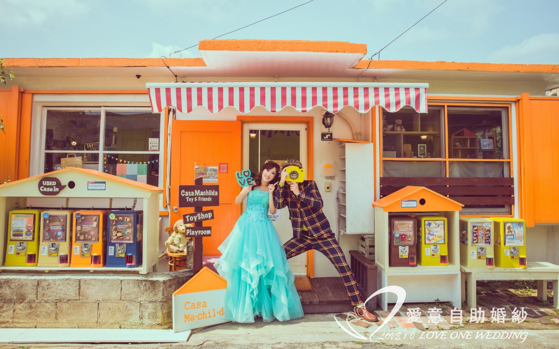 沖繩婚紗照愛意婚紗推薦3