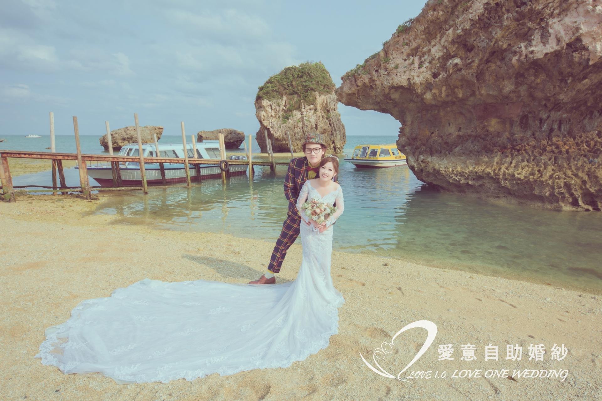 沖繩婚紗照愛意婚紗推薦6
