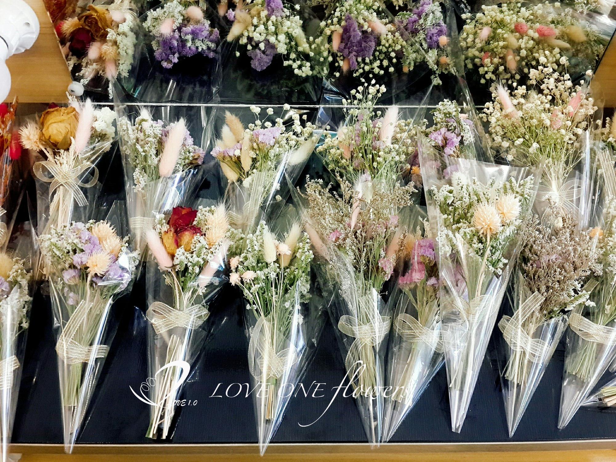 畢業季乾燥花花束422