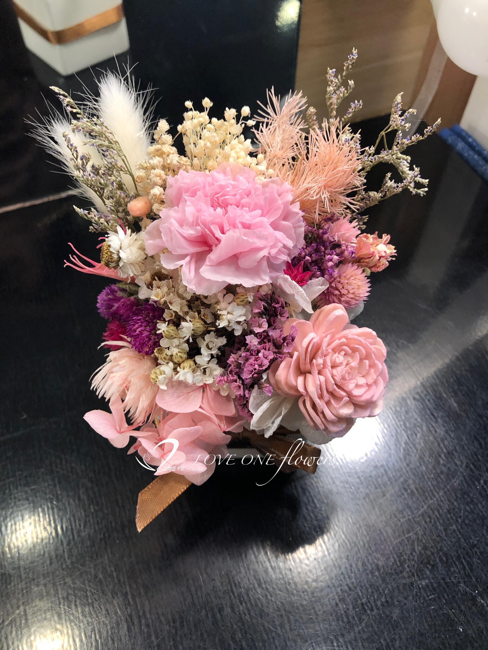 粉紅康乃馨412