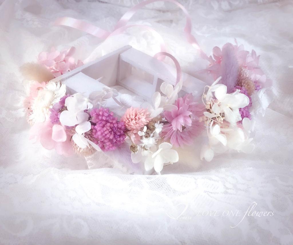 高雄乾燥花新娘花冠1