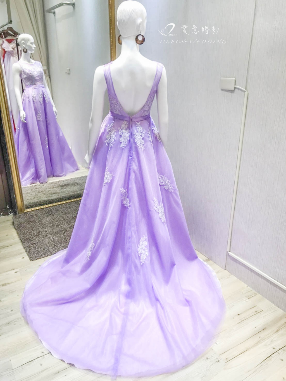 高雄紫色禮服推薦
