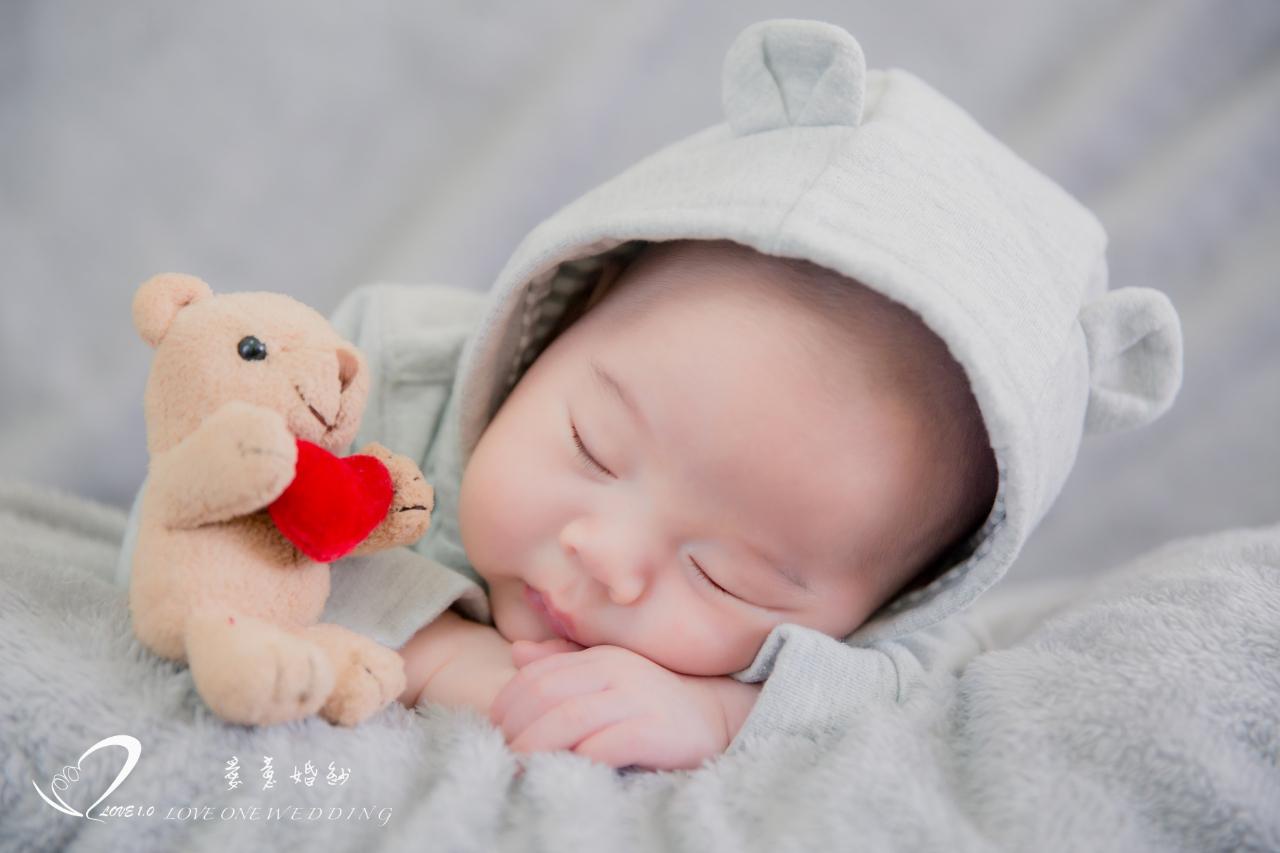 高雄新生兒寫真愛意2