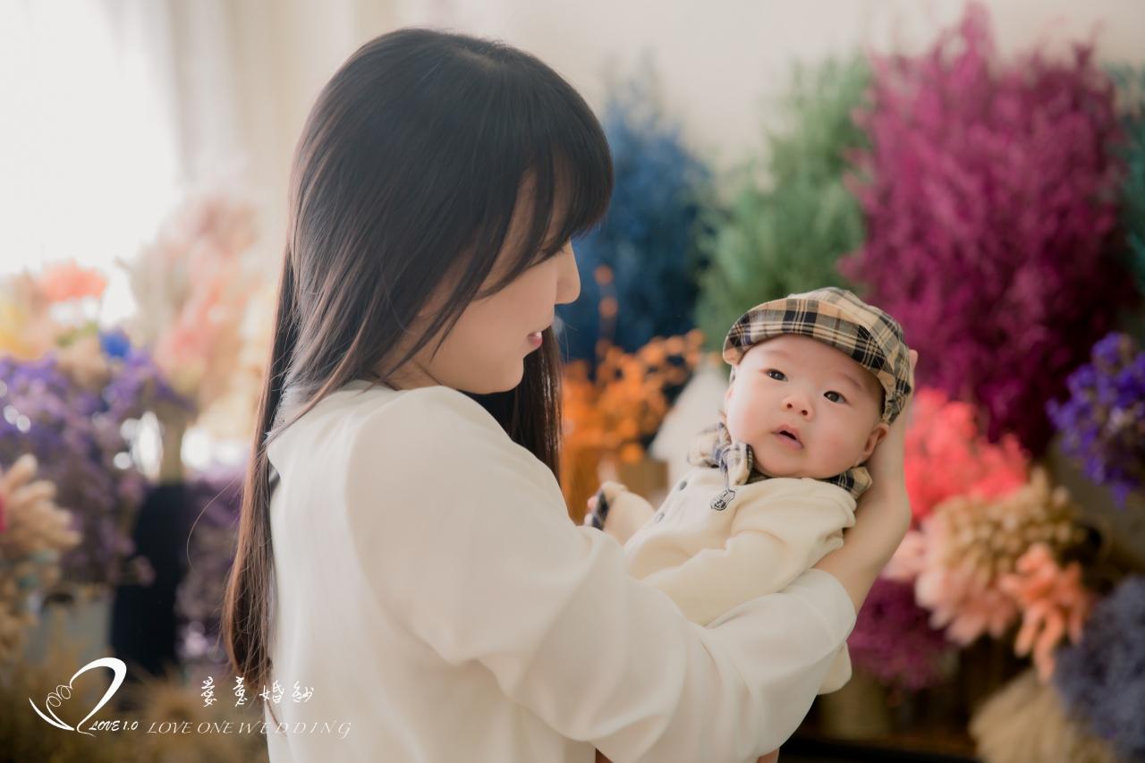 高雄新生兒寫真愛意5