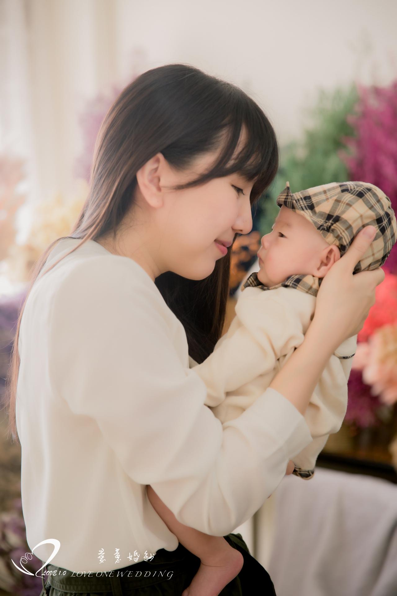 高雄新生兒寫真愛意6