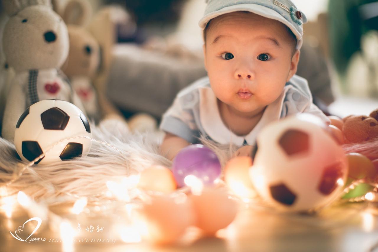 高雄新生兒寫真愛意8