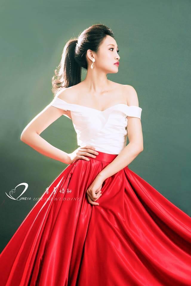 紅色婚紗禮服出租推薦愛意