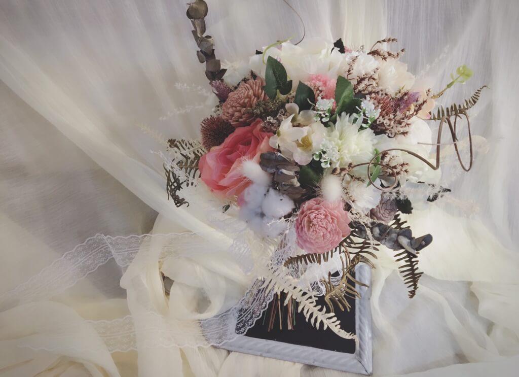 乾燥花拍照花束30